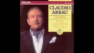 Frédéric Chopin, 1st piano concerto e-minor, Opus 11, Claudio Arrau