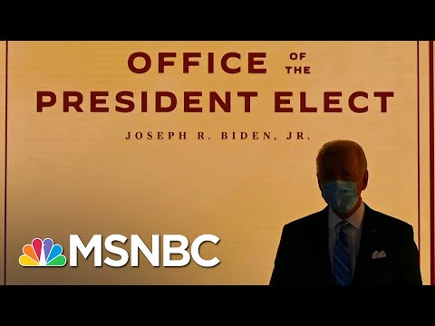Biden 'Blitz:' The Case For Flooding The Zone With Executive Orders On Day One   All In   MSNBC