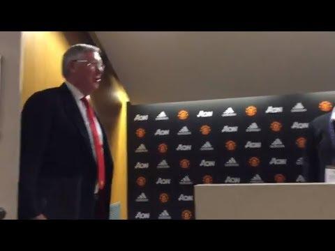 """Sir Alex Ferguson: """"You talk longer than my f**ckin wife."""""""