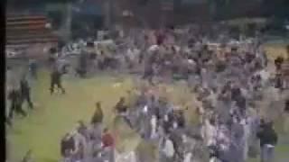 Millwall - Luton, 1985, Hool-Fight, Old-School