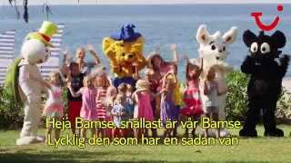 Bamsesången på Fritidsresors Blue Village