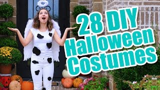 28 Last-Minute Halloween Costume Ideas