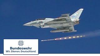 Eurofighter im Luftkampf: Angriff mit Raketen - Bundeswehr