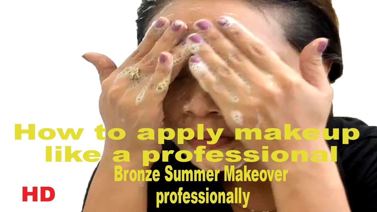 How to apply makeup like a professional Bronze Summer Makeover ...
