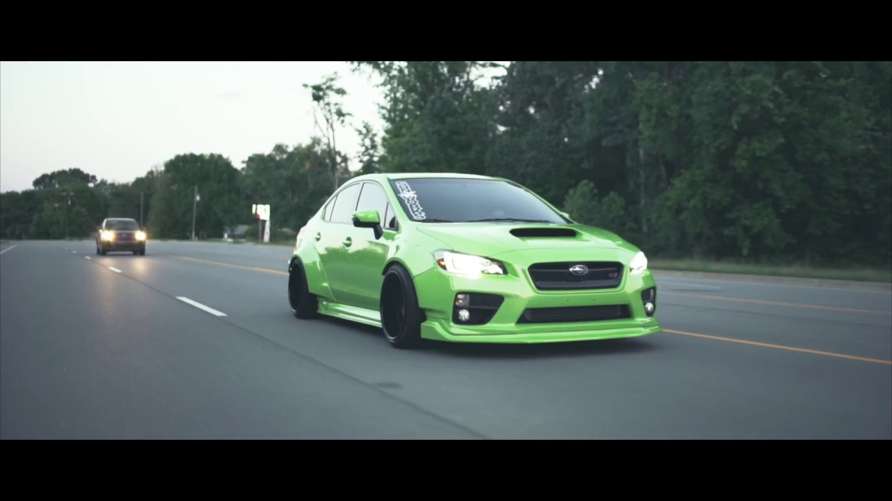 2017 Sti Lowered >> 2016 Subaru STi | Custom Lowered Bagged WideBody Impreza WRX STi - YouTube