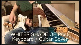 Whiter Shade of Pale - Procol Harum (guitar organ cover)