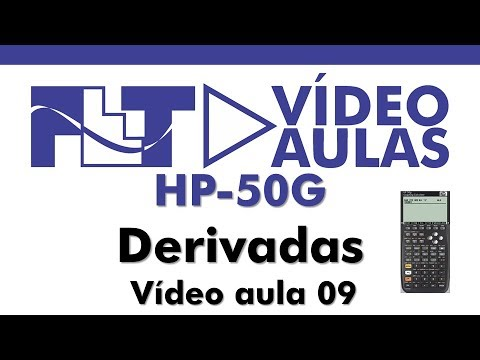 HP50G - Derivadas - Vídeo Aula 09