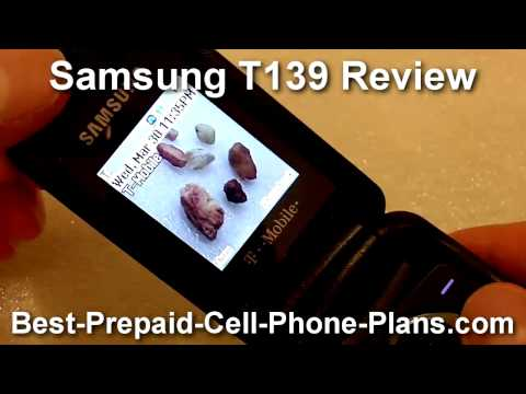 T-Mobile Samsung T139 Review