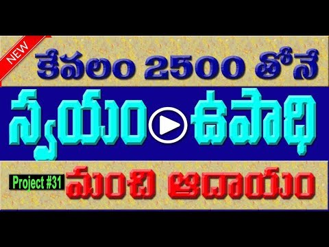 High profits giving industry at home in telugu | SSI | Small scale industries| VIDEO TRENDZ