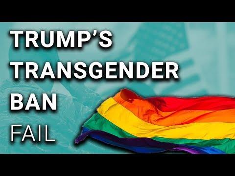 Trump Transgender Military Ban Shut Down by Court
