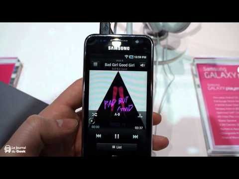 CES 2011 : Samsung Galaxy Player PMP