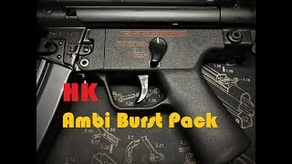 Hk Ambi Burst Pack Hammer Spring Install - With Full Auto Test Fire