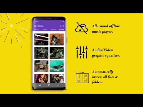 Android HD Video Player App | Free Music Player App | Android 4K Video Player App