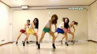 PSY - GANGNAM STYLE (강남스타일) Waveya 웨이브야 Korean dance team
