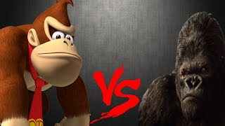 Donkey Kong Vs King Kong  (sprite animation)