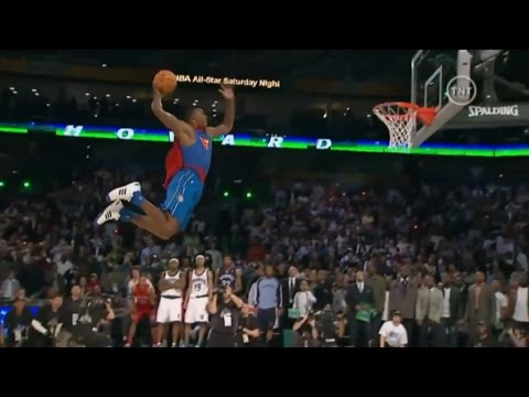 Dwight Howard - 2008 NBA Slam Dunk Contest (Champion) (Improved Quality)