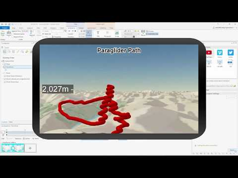 Animation in ArcGIS Pro - Animating Linear Paths