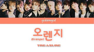 Download TREASURE (트레저) – ORANGE (오렌지) [COLOR CODED   HAN   ROM   ENG]
