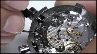 Unterhalt eines mechanischen Chronographen von Breitling