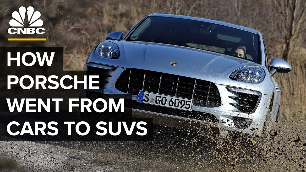 How Porsche Went From Selling Sports Cars To SUVs