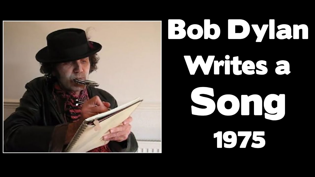 Bob Dylan Explains How He Writes A Song 1975 - YouTube