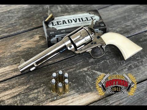 uberti 1873 single action cattleman revolver youtube