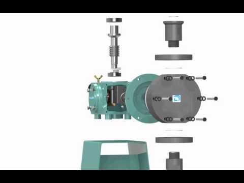 동일엠티(Dong-il M.T) Dosing(metering) Pump animation