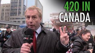 4/20 Toronto: Cannabis fans slam Trudeau