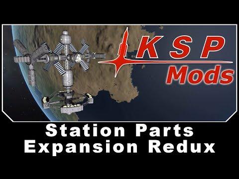 KSP Mods - Station Parts Expansion Redux
