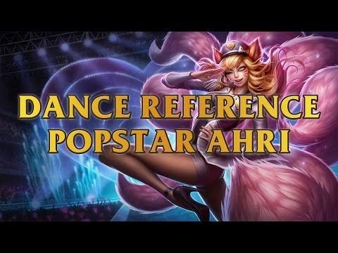 Popstar Ahri Dance Reference - Girls' Generation - Genie