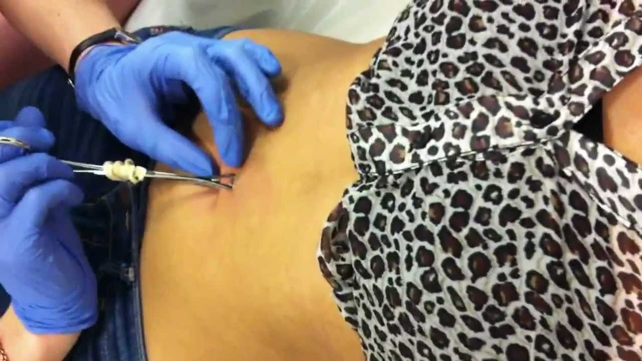 First Time Belly Button Piercing