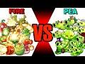 Gambar cover Team FIRE vs PEA? - Which Team Plant Will Win? - PvZ 2 Plant vs Plant