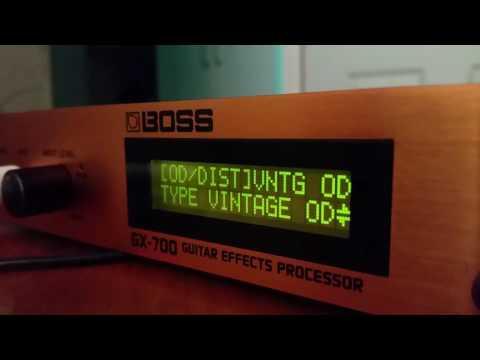 Boss gx700 test