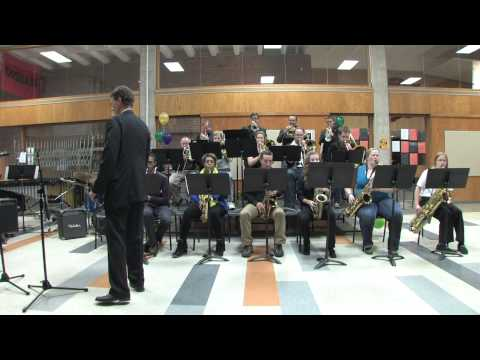"""Shawnee Mission Northwest High School Alumni Band Performs """"I Can't Get Started"""""""