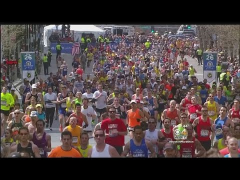 Boston Marathon Runners Feel Safe Thanks To Increased Security