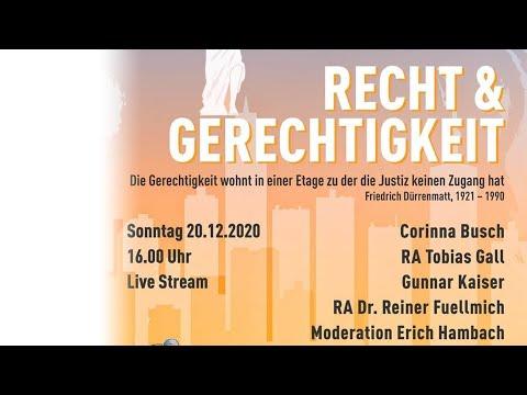 Recht & Gerechtigkeit - Talkrunde