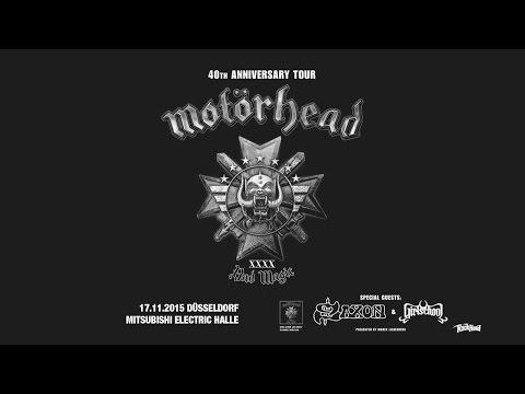 MOTÖRHEAD LIVE - FULL CONCERT 17.11.2015 DÜSSELDORF MITSUBISHI ELECTRIC HALLE