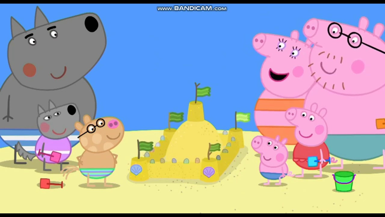 Download Peppa Pig S06E52 The Sandcastle