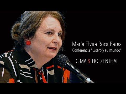 """María Elvira Roca Barea - Conferencia """"Lutero y su mundo"""""""