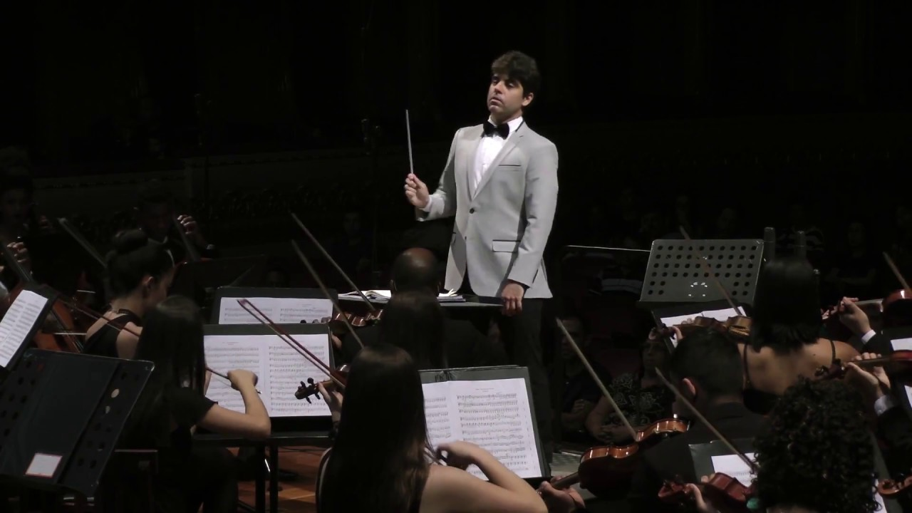 Weber - Der Freischutz Overture - Orquestra Sinfônica de Barra Mansa