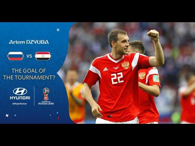 Artem DZYUBA goal vs Egypt   2018 FIFA World Cup   Hyundai Goal of the Tournament Nominee