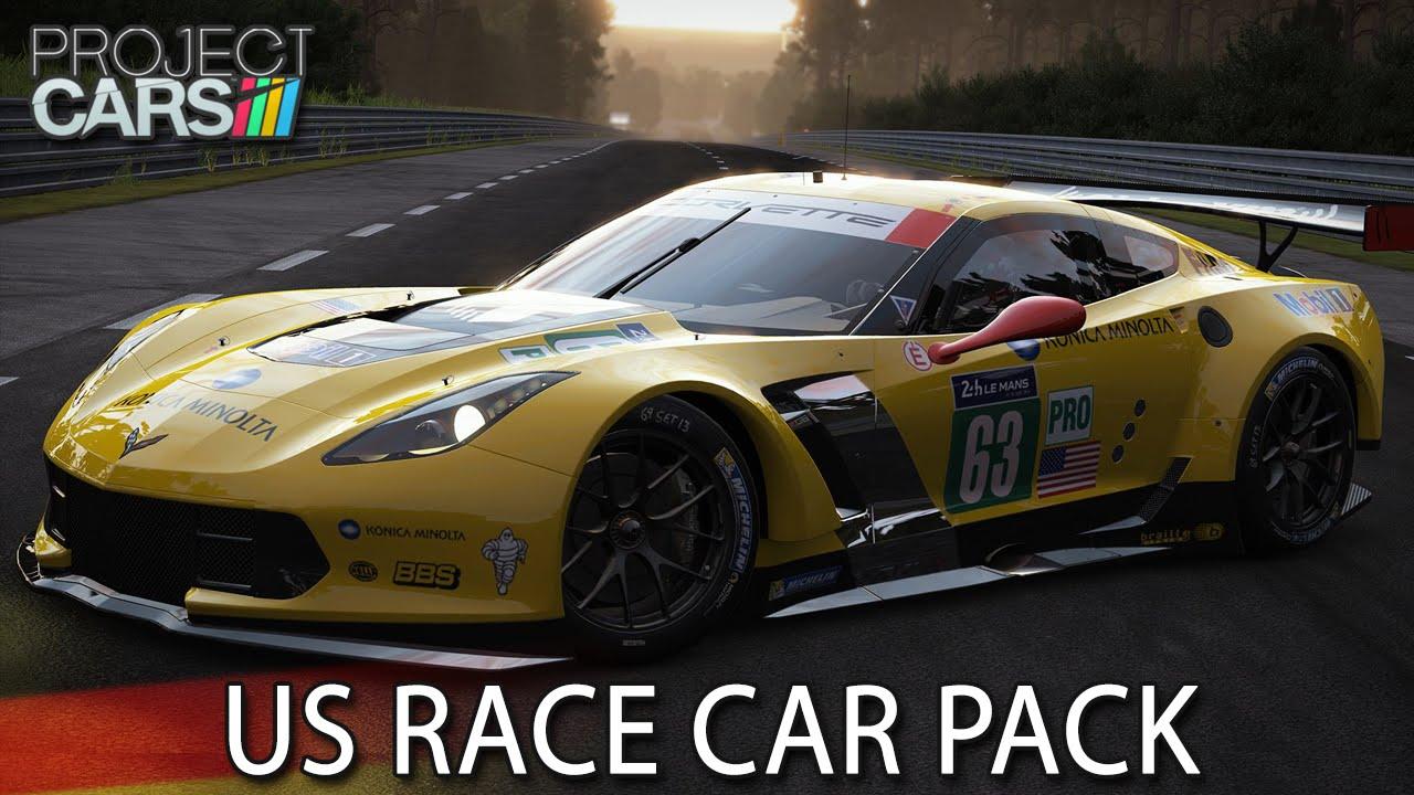 Us Race Car Pack Project Cars Hd Ger Corvette R Watkins