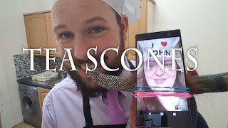 A Recipe for Nightmares #19 Tea Scones