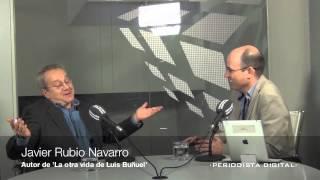 Javier Rubio Navarro, autor de 'La otra vida de Luis Buñuel'. 2-10-2013