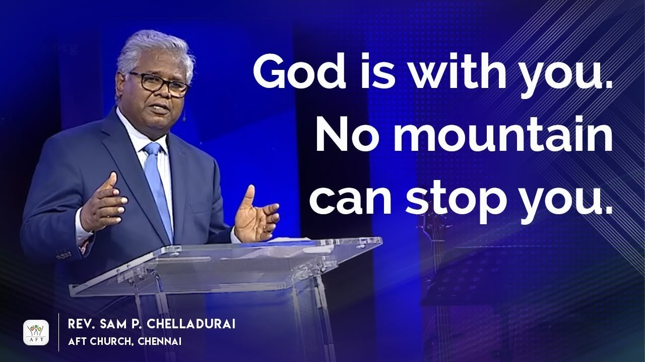 God is with you. No mountain can stop you.