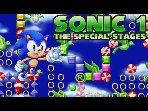 Sonic 1: The Special Stages - Walkthrough