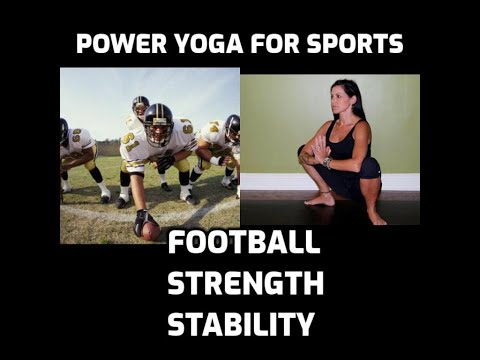 Power Yoga for Sports - Football DVD - Strength & Stability.wmv