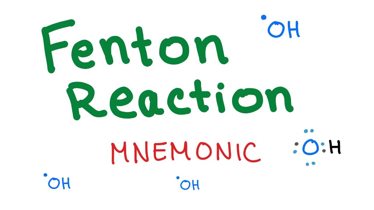 Fenton Reaction With A Mnemonic