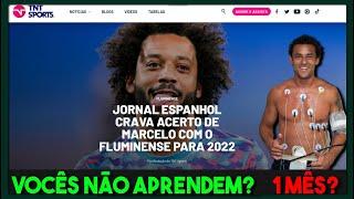 TNT SPORTS CRAVA MARCELO NO FLU! MAIS UM FAKE? | FRED PARADO POR QUASE 1 MÊS! | JK SE DEU BEM?