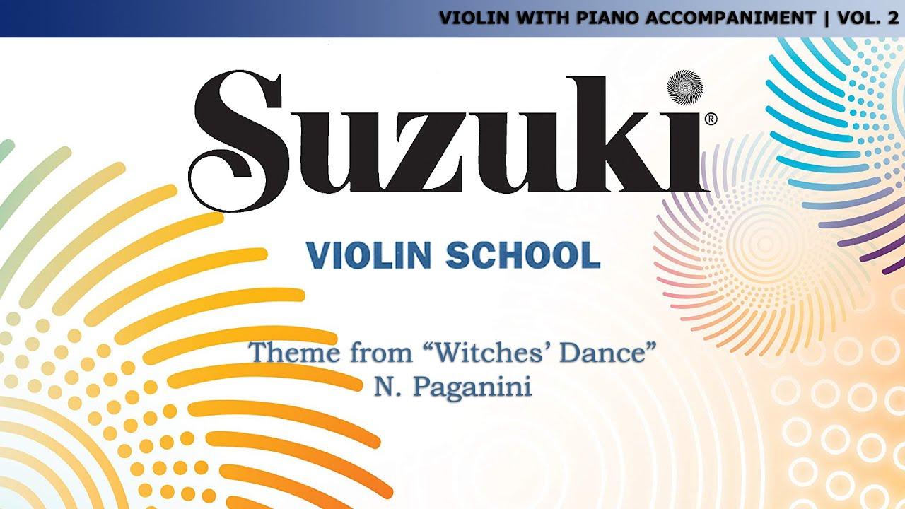 Witches Dance Violin Suzuki